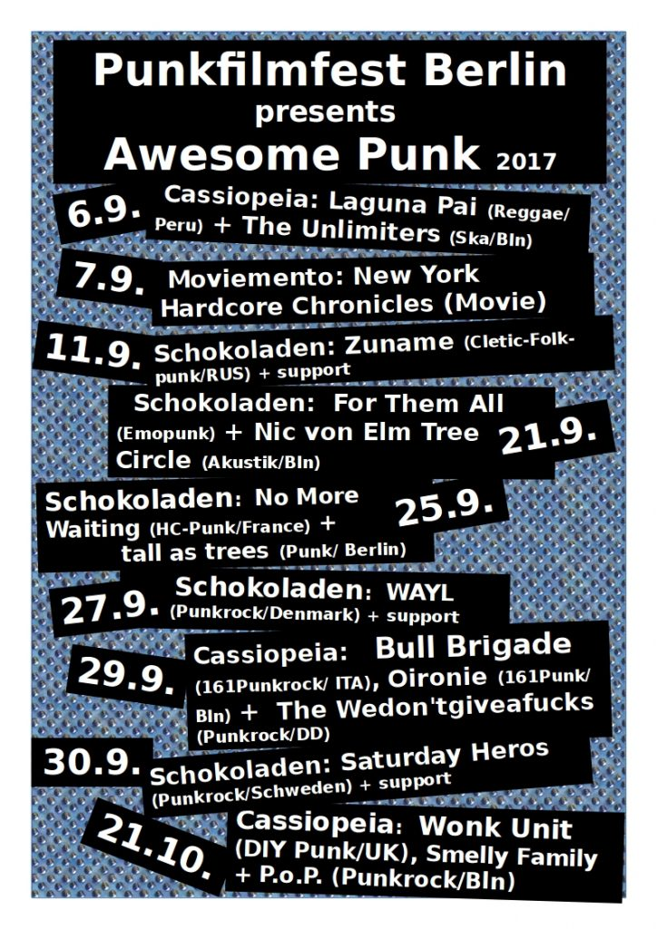 Awesome Punk 2017